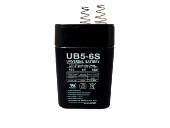 UB5-6S - 6 Volts 5Ah - Terminal S2 - SLA/AGM Battery  | Battery Specialist Canada