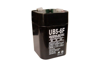 UB5-6F - 6 Volts 5Ah - Terminal F1 - SLA/AGM Battery - UB650F | Battery Specialist Canada