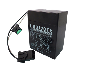 UB6120 Toy Battery Angle View| Battery Specialist Canada