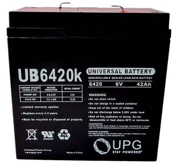 UB6420 Battery - 12V 42Ah | Battery Specialist Canad