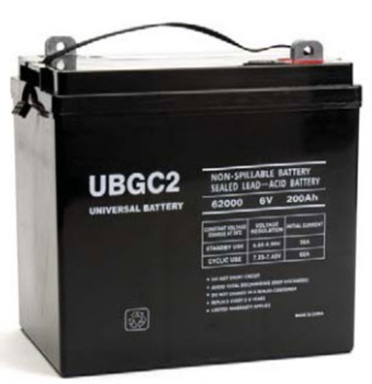 6 Volts 200Ah -Terminal L5 - SLA/AGM Battery - UB-GC2 | Battery Specialist Canada