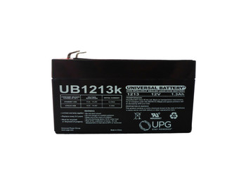 12 Volts 1.3Ah -Terminal F1 - Front | Battery Specialist Canada