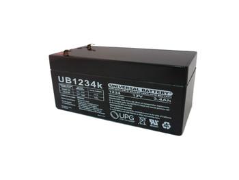 12 Volts 3.4Ah -Terminal F1 - SLA/AGM Battery - UB1234 | Battery Specialist Canada