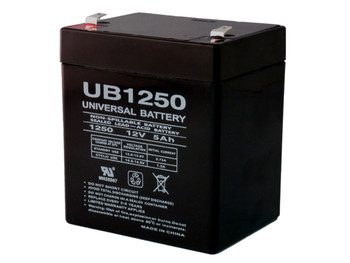 12 Volts 5Ah -Terminal F1 - SLA/AGM Battery - UB1250| Battery Specialist Canada