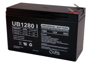 12 Volts 8Ah -Terminal F1 - SLA/AGM Battery - UB1280| Battery Specialist Canada