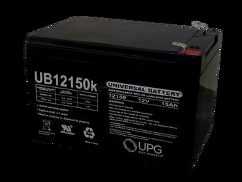 UB12150 - 12V 15Ah - SLA Battery Side | Battery Specialist Canada
