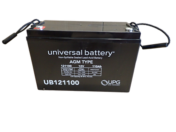 12 Volts 110Ah -Terminal I6 - SLA/AGM Battery - UB121100 | Battery Specialist Canada