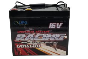 UB126600 - 12V 60Ah AGM Battery - 12V & 16V - UPG40653 | batteryspecialist.ca