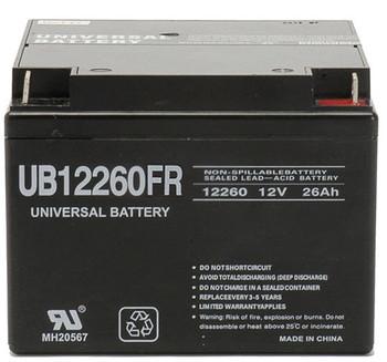 UB12260FR - 12V 26Ah   Battery Specialist Canada