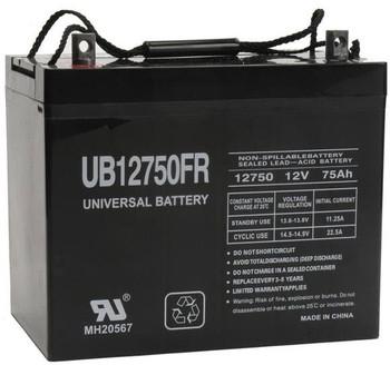UB12750FR - 12V 75Ah SLA Battery - D5882 | Battery Specialist Canada