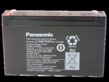 Panasonic SLA Battery LC-R067R2P1 | batteryspecialist.ca