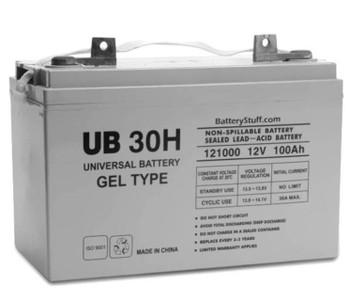 UB-30H Gel 12V 100Ah FL2 Battery | Battery Specialist Canada