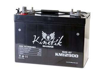 KM12900 - 12V 90Ah - SLA Battery With Marine Post Terminal | Battery Specialist Canada