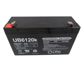 6V 12Ah SLA Battery F2 | Battery Specialist Canada
