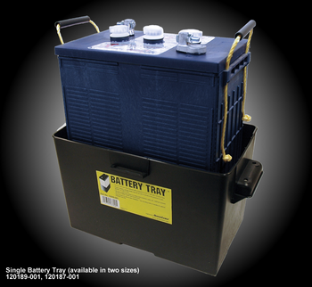 Single Battery Tray For Group - GC2 - GC2H- GC8 - U2200 - U2300 - U2400 - U2500 - U2500HC | Battery Specialist Canada
