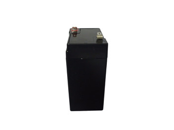 BP4.5-6 6 Volt 4.5 AmpH SLA Replacement Battery with F1 Terminal - 1 SLA/AGM Battery Side View | Battery Specialist Canada