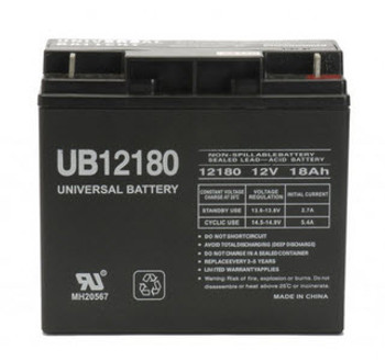 12V 12Ah F2 SLA Battery Replacement for FP12120 WP12-12 00801-1460 TR12-12
