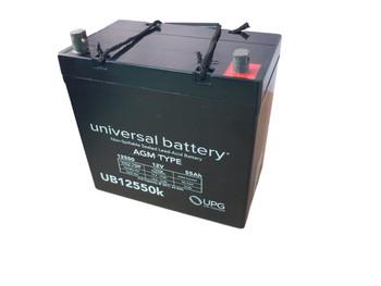 UB12550 (Group 22NF) 12V 55AH SLA Battery INTERNAL THREAD TERMINAL| batteryspecialist.ca