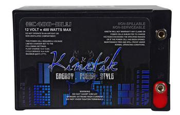 Kinetik BLU 400 Watt 12V 12Ah Power Cell - HC400-BLU Top Image | Battery Specialist Canada