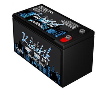 Kinetik BLU 400 Watt 12V 12Ah Power Cell - HC400-BLU Side Image | Battery Specialist Canada