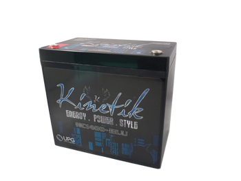 Kinetik BLU 1400 Watt 12V 55Ah Power Cell | Battery Specialist Canada