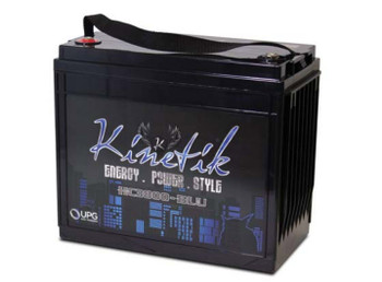 Kinetik BLU 3800 Watt 12V 135Ah Power Cell - HC3800-BLU Side | Battery Specialist Canada