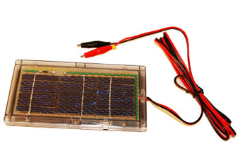 6V Solar Panel - Recommended for 5Ah or Less SLA Battery - 87512 | Battery Specialist Canada