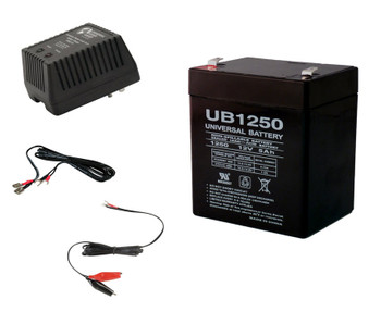 12V 5Ah F2 Sealed Lead Acid Battery Replaces Tekonsha 1023 SLA