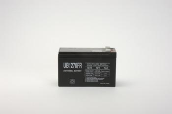RBC2 Flame Retardant Universal Battery - 12 Volts 7Ah - Terminal F2 - UB1270FR| Battery Specialist Canada