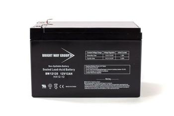 RBC4 Universal Battery - 12 Volts 12Ah -Terminal F2 - UB12120  Battery Specialist Canada