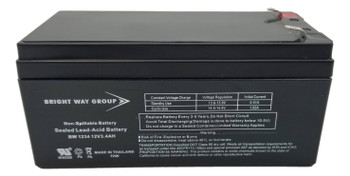 RBC47 Universal Battery - 12V 3.4Ah - Terminal Size F1 -  UB1234 Front| Battery Specialist Canada