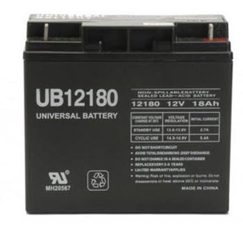 BERBC60 Universal Battery - 12 Volts 18Ah -Terminal T4 - UB12180| Battery Specialist Canada
