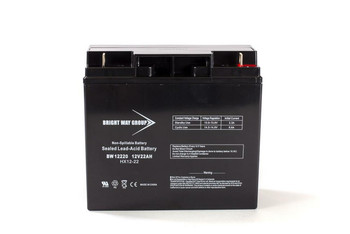 BERBC60 Replacement Battery - 12 Volts 22Ah -Terminal T4  Battery Specialist Canada