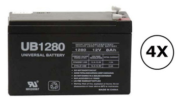 F6C100-UNV Universal Battery - 12 Volts 8Ah - Terminal F2 - UB1280| Battery Specialist Canada