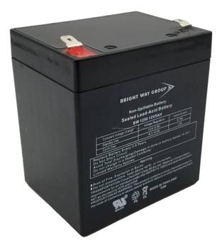 F6C1250-BAT-RK Universal Battery - 12 Volts 5Ah - Terminal F2 - UB1250  Battery Specialist Canada
