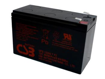 F6C1270-BAT-RK UPS CSB Battery - 12 Volts 7.5Ah - 60 Watts Per Cell -Terminal F2  - UPS123607F2 - 2 Pack| Battery Specialist Canada
