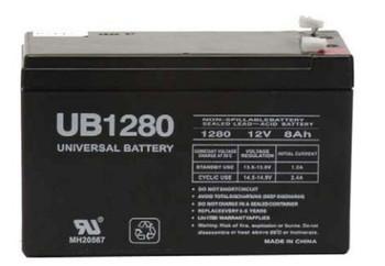F6C650-USB Universal Battery - 12 Volts 8Ah - Terminal F2 - UB1280| Battery Specialist Canada