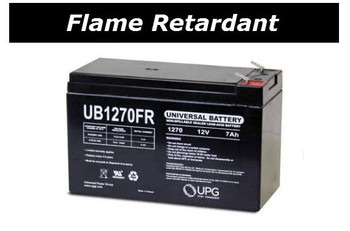 CPS700AVR Flame Retardant Universal Battery - 12 Volts 7Ah - Terminal F2 - UB1270FR| Battery Specialist Canada