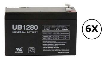 OL3000RTXL2U Universal Battery - 12 Volts 8Ah - Terminal F2 - UB1280| Battery Specialist Canada