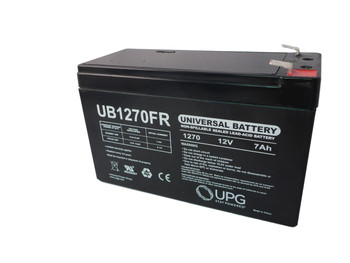 OP650 Flame Retardant Universal Battery - 12 Volts 7Ah - Terminal F2 - UB1270FR| Battery Specialist Canada