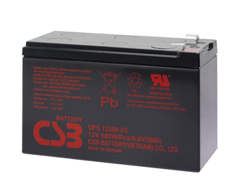 PR1000LCDRTXL2U CBS Battery - Terminal F2 - 12 Volt 10Ah - 96.7 Watts Per Cell - UPS12580 - 4 Pack  Battery Specialist Canada