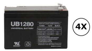 PR2200LCDRT2U Universal Battery - 12 Volts 8Ah - Terminal F2 - UB1280| Battery Specialist Canada