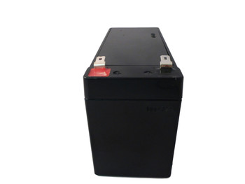 RB1270X4A Flame Retardant Universal Battery - 12 Volts 7Ah - Terminal F2 - UB1270FR - 4 Pack Side| Battery Specialist Canada