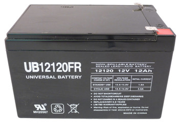 90P4829 Flame Retardant Universal Battery -12 Volts 12Ah -Terminal F2- UB12120FR - 2 Pack| Battery Specialist Canada