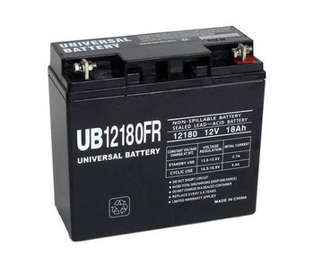 90P4831 Flame Retardant Universal Battery -12 Volts 18Ah -Terminal T4- UB12180FR - 2 Pack| Battery Specialist Canada