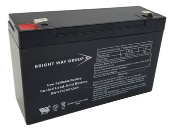 300 Emerson Universal Battery - 6 Volts 12Ah -Terminal F2 - UB6120| Battery Specialist Canada