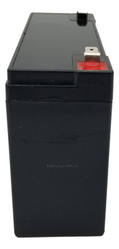 PC-ET Emerson Universal Battery - 6 Volts 12Ah -Terminal F2 - UB6120 Side   Battery Specialist Canada