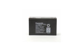 PC-ET Emerson Panasonic Battery - 6V 12Ah - Terminal Size 0.25 - LC-R0612P1