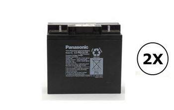 142228-005 Panasonic Battery - 12V 17Ah - Terminal T4 - LC-RD1217P| Battery Specialist Canada