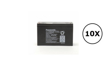 HP 0957-0069 Panasonic Battery - 6V 12Ah - Terminal Size 0.25 - LC-R0612P1